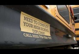 Edúcalos: Calcomanías en los Autobuses Escolares