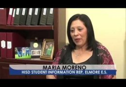 HISD Employee of the month for April 2015