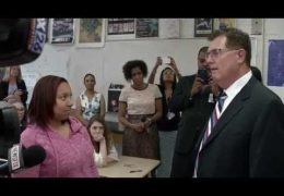 Superintendent Surprises Bellaire HS Student with a $10,000 Scholarship