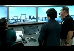 Austin HS christens ship navigation simulator