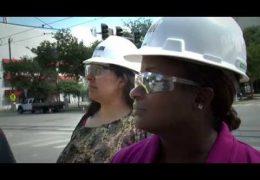 Lee High School Teachers' Externship with Vaughn Construction