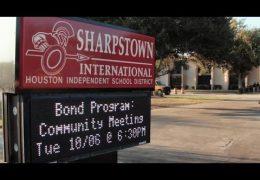Community Bond meeting at Sharpstown International School