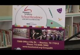 HISD, BBVA Compass, Houston Symphony announce new music program at Crespo ES