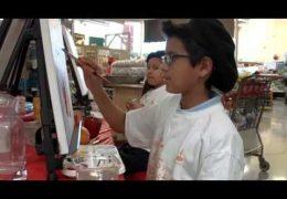 Edúcalos: Estudiantes Artistas Pintan en H.E.B.