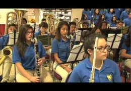 Marshall MS Band and Choir Performance