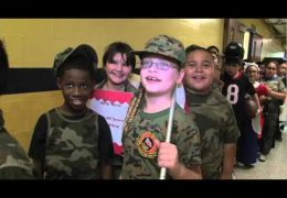 Veterans' Day Celebrated at Barrick and Durham Elementary Schools