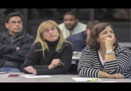 Community Bond Meeting at Energy Institute H S