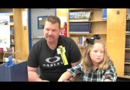 Washington HS students present prosthetic arm to 6-year-old girl