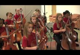 Fine Arts Friday: Parker ES Strings