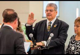 HISD Trustees take Oath of Office 2016