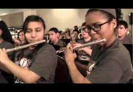 HISD Fine Arts Performance by the Fonville MS Band