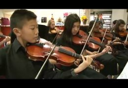 Fine Arts Friday presents the Lanier Middle School Orchestra