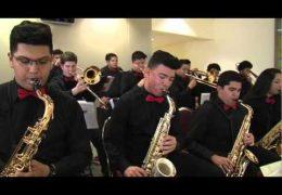 HISD Fine Arts Performance Waltrip HS Jazz Band 2016