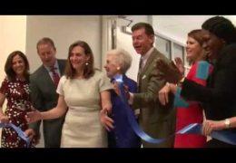 Tanglewood School Community Celebrates Name and Ribbon Cutting