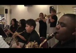 HISD Fine Arts Performance Pershing M.S. Jazz Ensemble 2016