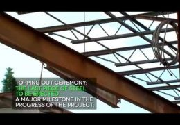 Wisdom High School Topping Out Ceremony