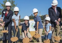 Wilson Montessori breaks ground on new addition