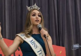 Miss Texas Stands Against Bullying