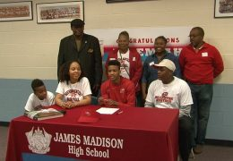Madison HS Basketball Player Jeremiah Gambrell Jr. commits to Western Kentucky University