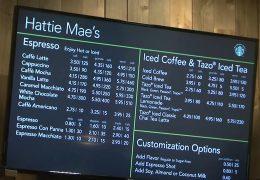 Hattie Mae's Starbucks Grand Opening