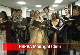 HSPVA Madrigal Choir Performance