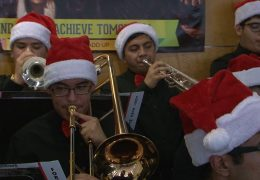 Waltrip HS Jazz Band Holiday Performance