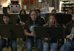 Hamilton MS Band Holiday Performance
