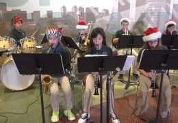 Oak Forest ES Jazz Band Holiday Performance