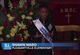 MLK 2018 Shawn Ward, Pleasantville Elementary