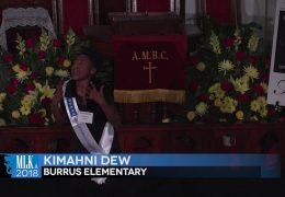 MLK 2018 Kimahni Dew, Burrus Elementary
