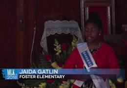 MLK 2018 Jaida Gatlin, Foster Elementary