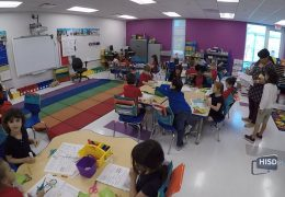 Parker Elementary's First Day in their New Building