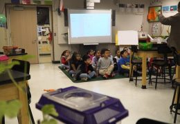 Investing in Innovative Education Classroom visit at Rodriguez ES