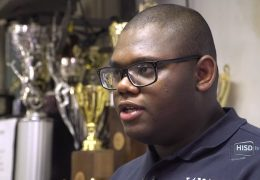 HISD student Micheal Brown is accepted to 20 top tier universities