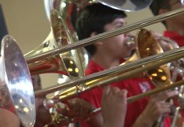 Waltrip HS Pep Band Fine Arts Friday Performance
