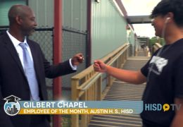 Employee of the Month: Gilbert Chapel