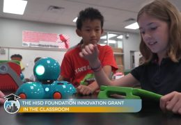 HISD Foundation Innovation Grant used in the classroom