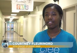 HAIS student Courtney Fleurinord travels abroad through CIEE