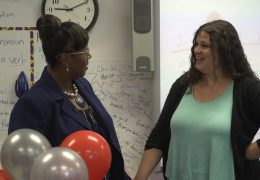 HISD Teacher of the month for October 2018