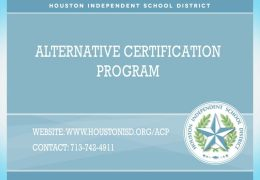 HISD ACP Program 2018