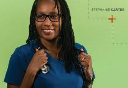 Welch Middle School Nurse Stephanie Carter-Wrap Around Services