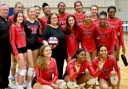 Bellaire HS Volleyball Coach gets 600th win