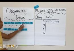 3rd-5th Math – Stem and plot