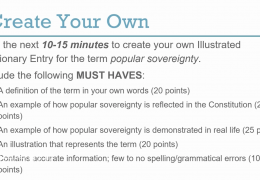 6th – 8th grade Social Studies – Popular Sovereignty Jamie Filipow TRT 30-16