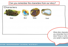 K-2 READING-WRITING WEEK 3 – CHARACTER AND SETTING – BOBBI RICHARDSON TRT 28-35