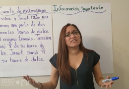 3rd-5th Math (Spanish) – Comparando fracciones