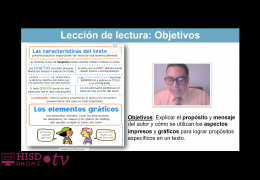 3rd-5th Reading/Writing (Spanish) – Propósito y mensaje