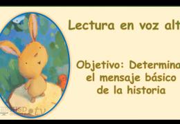 K-2 Reading/Writing (Spanish) – Determinando el tema básico