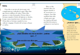 K-2 Reading/Writing (Spanish) – Nuestra tierra: Una enciclopedia de accidentes geográficos