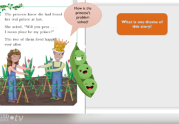 K-2 Reading/Writing – The Princess and the Peas
